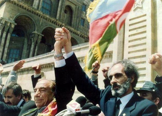Elçibey ve Türkeş