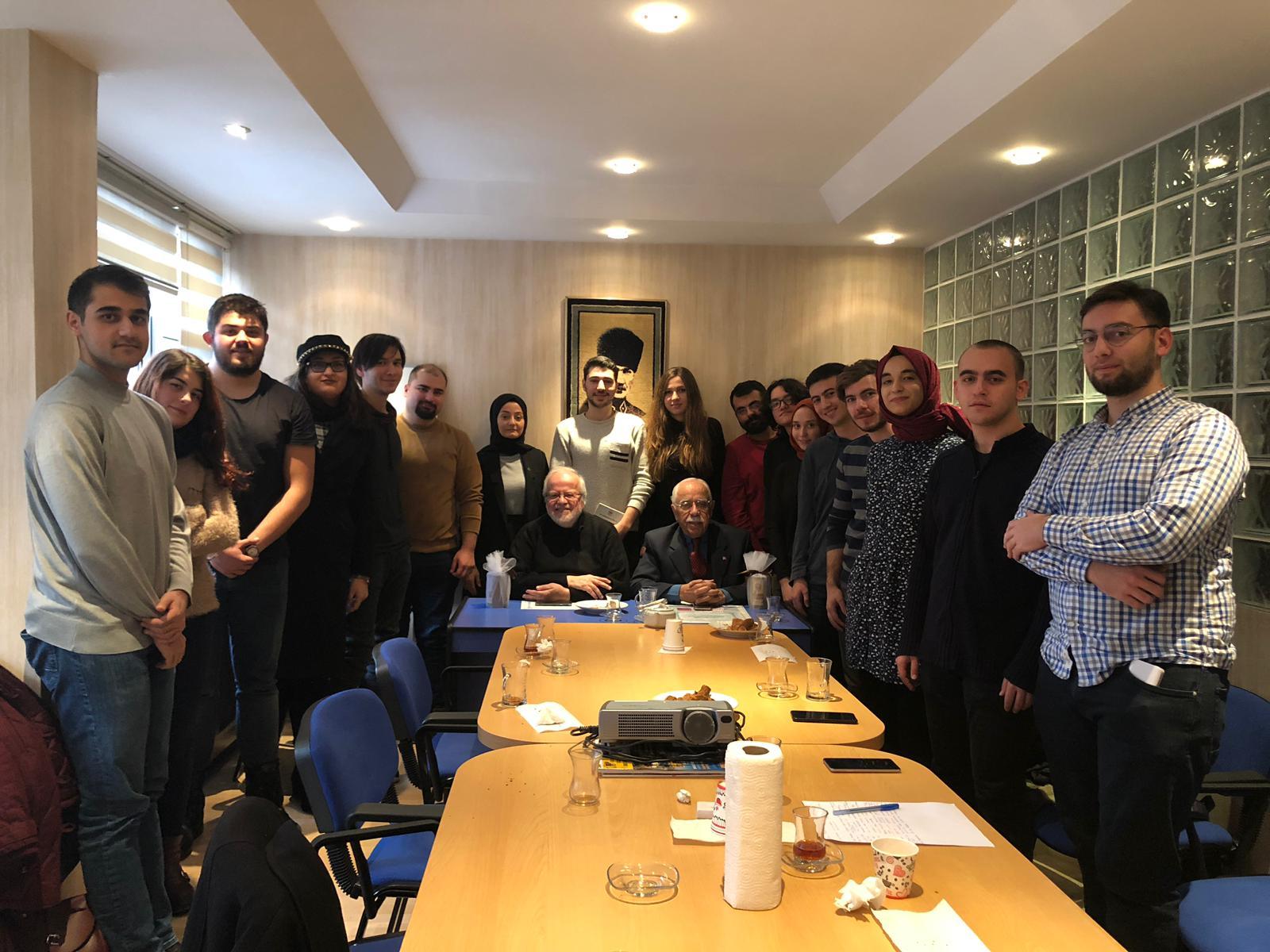 Boğaziçi Üniversitesi Türk Araştırmaları Topluluğu, Türk Kahvesi Sohbetleri kapsamında fikir alışverişi- MİSAK