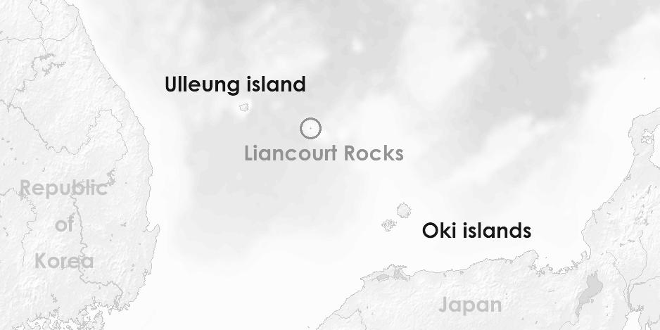 Türkiye, Güney Kore ve Dokdo adası