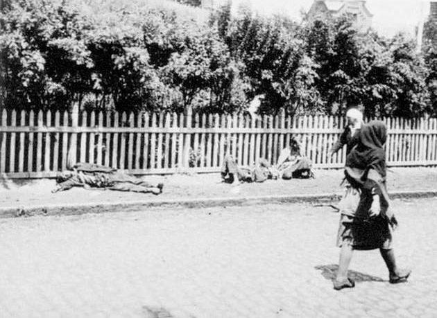1917-1919 arası açlık ve kıtlığa dair bir fotoğraf
