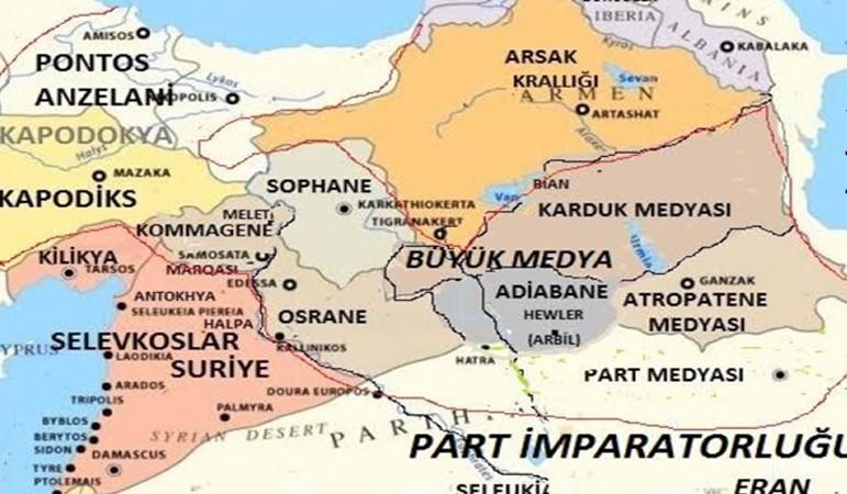 Sözde Aryen halklar haritası
