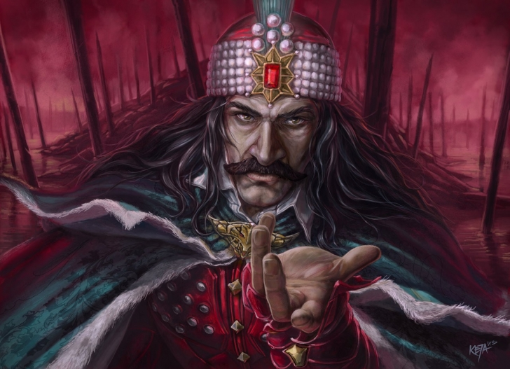 Kazıklı Voyvoda adıyla nam salan III. Vlad ya da Kont Dracula