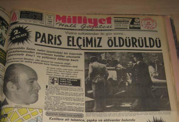 Kaynak: Milliyet, 25 Ekim 1975