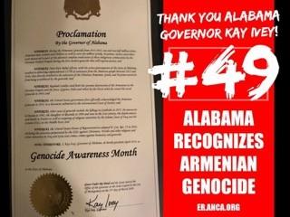 Teşekkürler Alabama!