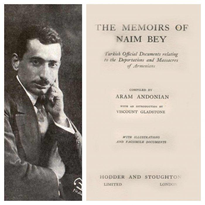 Aram Andonian- Naim Bey'in Hatıraları