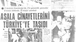 Türk basınında ASALA terörü