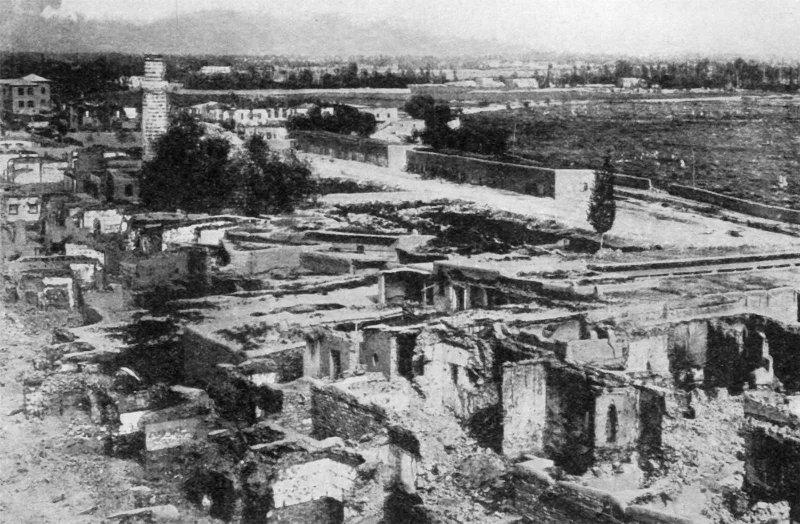 İsyan eden Ermeni çetelerin Van'da çıkardıkları çatışmadan sonra şehrin hali