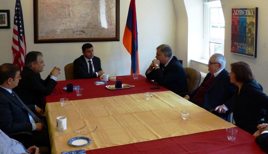 BDP, ARF ve ANCA görüşmesi