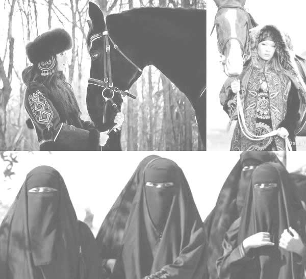 Kadına bakış; Türkçü ile dinci karşılaştırması