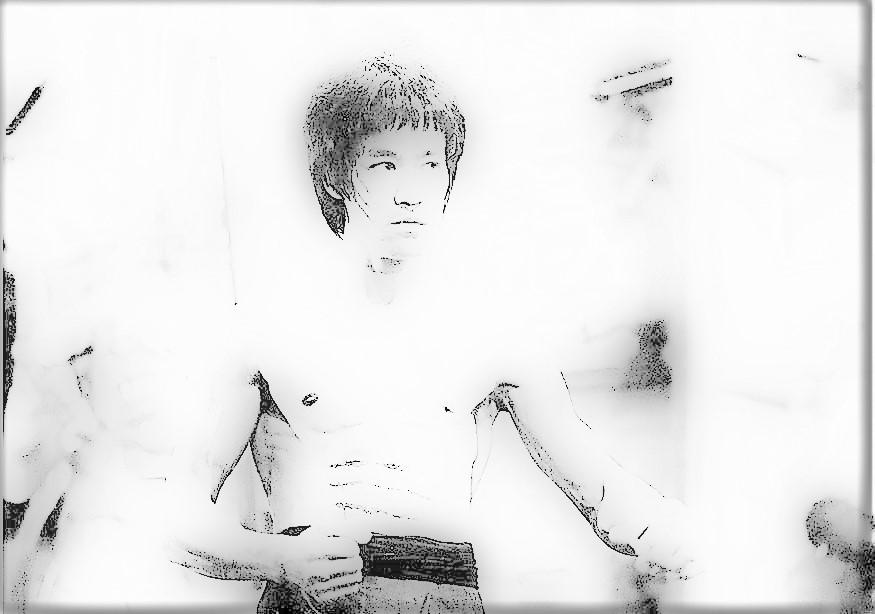 Bruce Lee'ye kurşun işlemiyormuş abi!