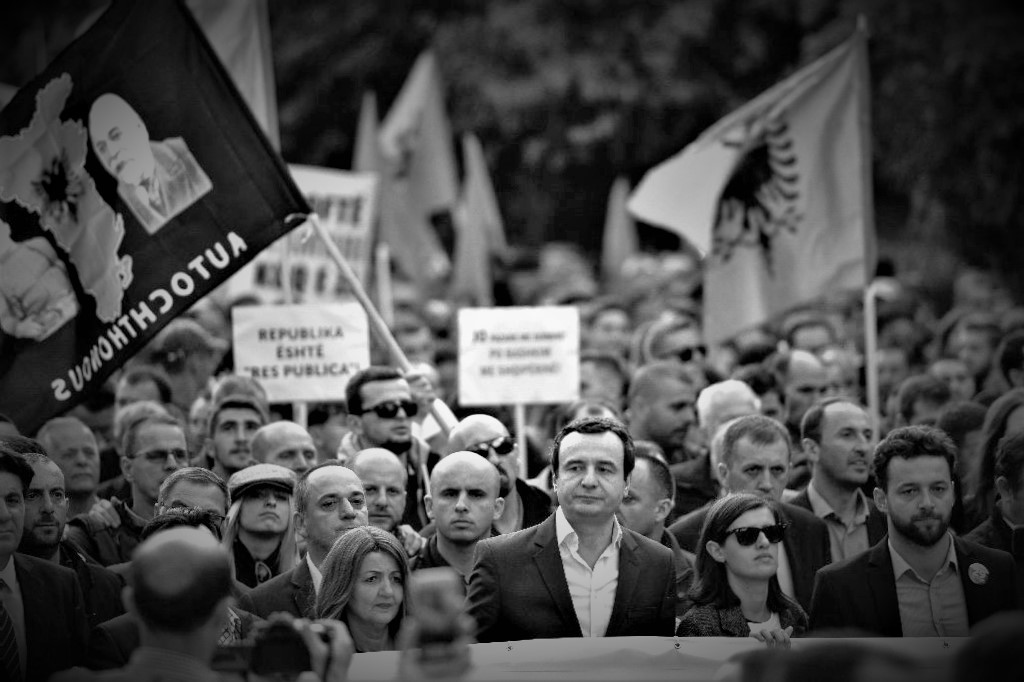 Kosova'da ABD fırtınası