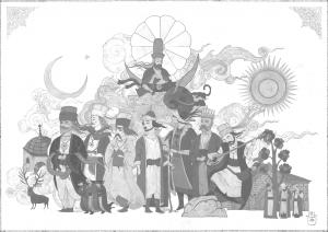 İran tarih yazımında Türkler