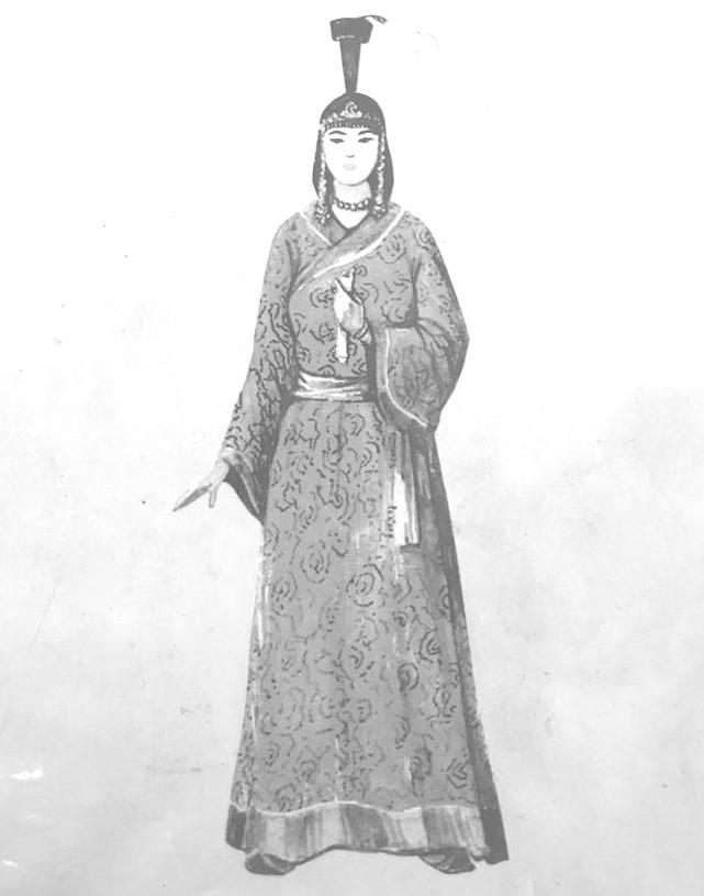 Moğolların efsanevî kahramanı Manduhay Setsen Hatun