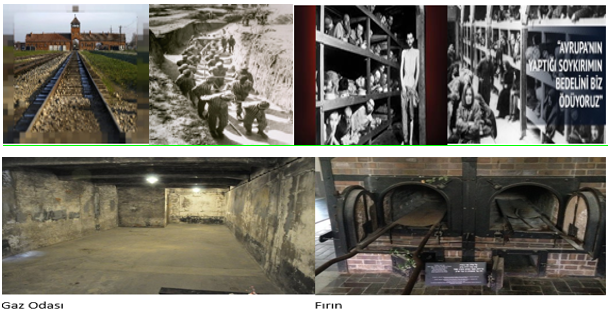 Auschwitz soykırım kampı