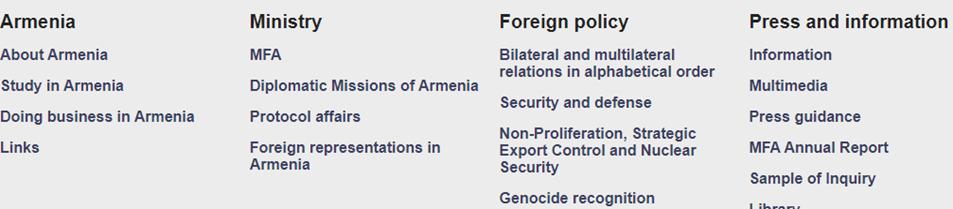 Ermenistan elçilik sayfası
