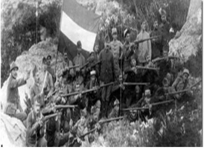 Kıbrıs Monarga Ermeni Lejyonu Kampı'nda Eğitilen Kayseri/Tomarza'lı Ermeniler