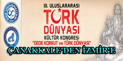 ÇANAKKALE'DEN İZMİR'E