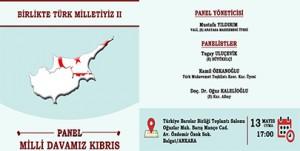 MİLLİ DAVAMIZ KIBRIS PANELİ