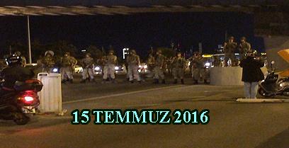 15 TEMMUZ 2016
