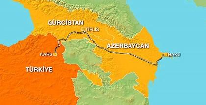 BAKÜ -TİFLİS -KARS  (Yeni Demir İpek yolu)