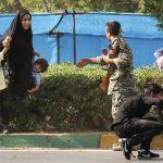 İran'ın Ahvaz şehrindeki terör saldırısından bir görüntü