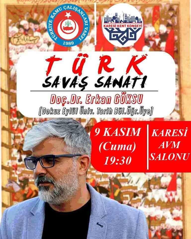 Türk Savaş Sanatı-Doç. Dr. Erkan Göksu