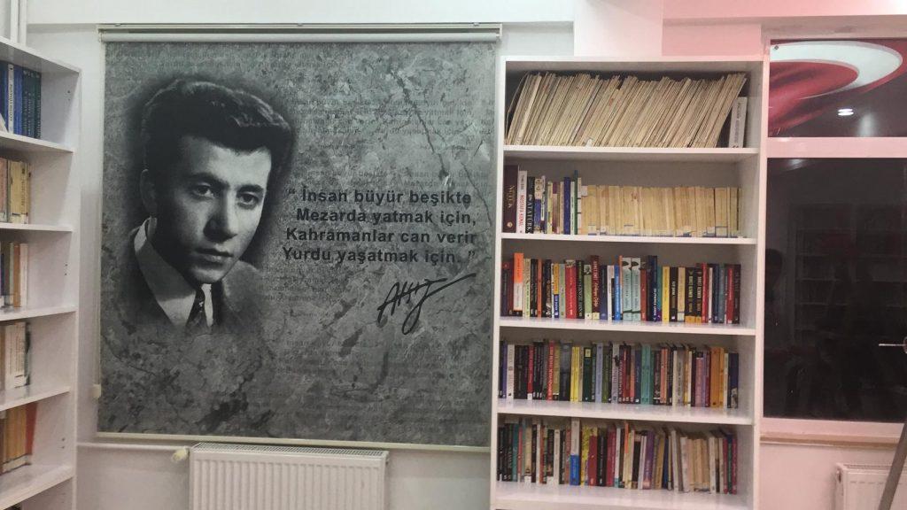 Ülkücü Şehit Ertuğrul Dursun Önkuzu Kütüphanesi açıldı.