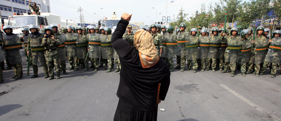 1911'de başlayan Çin işgali altında Doğu Türkistan Türkleri sürekli olarak varlığını koruma mücadelesi vermektedir.