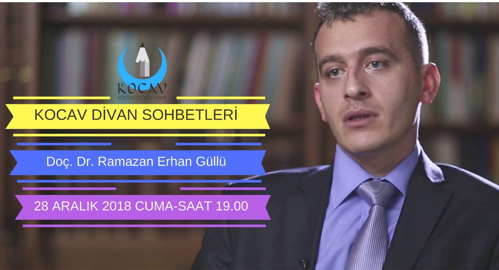 İstanbul Üniversitesi Tarih Bölümü Öğretim Üyesi Doç. Dr. Ramazan Erhan Güllü