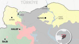 """ABD'den PKKistan'ı Kurmak Üzere """"Suriye'de Çekiç Güç Önerisi"""""""