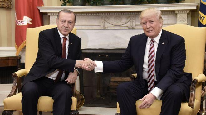 BBC Türkçe: Trump: Erdoğan, Suriye'de IŞİD'den geriye ne kaldıysa yok edeceğini söyledi