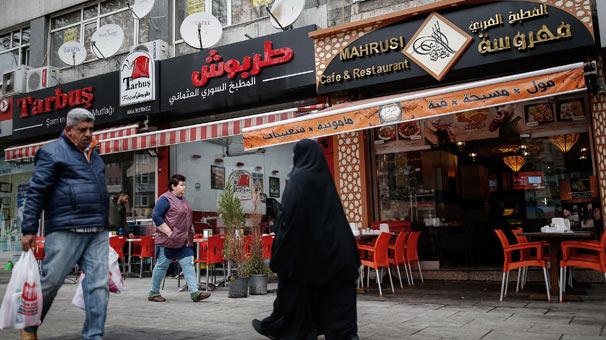 İstanbul'daki Suriye