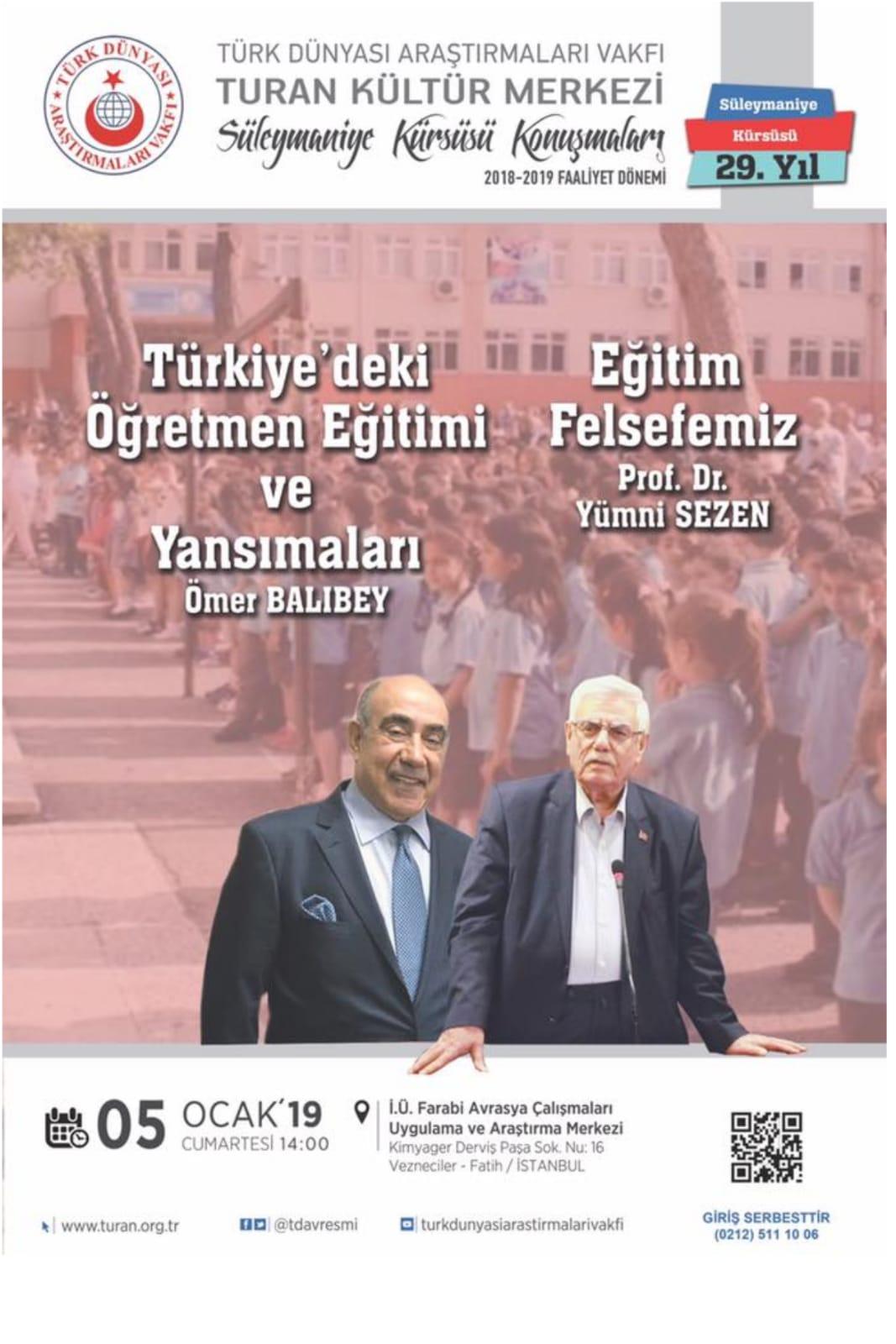 Eğitim Felsefemiz-Türkiye'deki Öğretmen Eğitimi ve Yansımaları