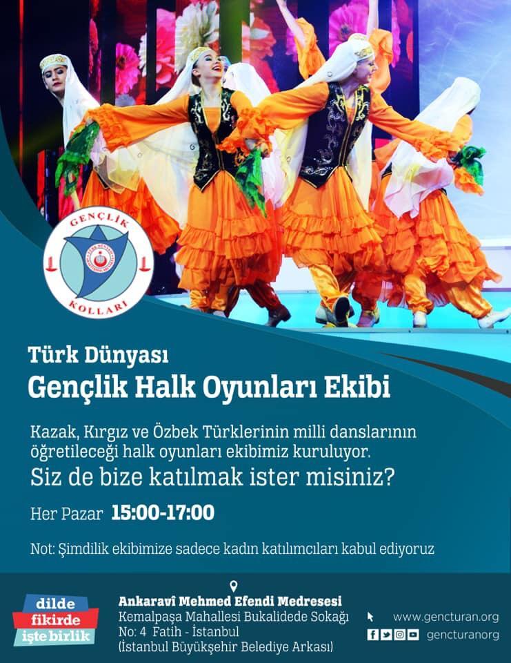 Türk Dünyası Gençlik Halk Oyunları Ekibi