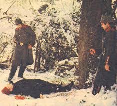12 Eylül yönetimince yasaklanan Yorgun Savaşçı filminden bir sahne
