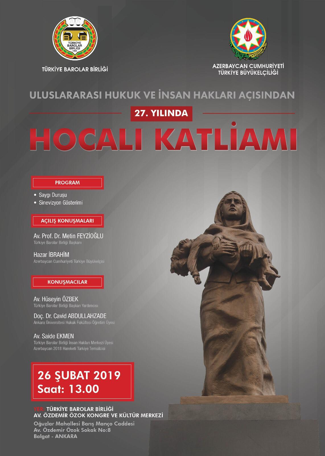 Uluslararası hukuk ve insan hakları açısından Hocalı Katliamı