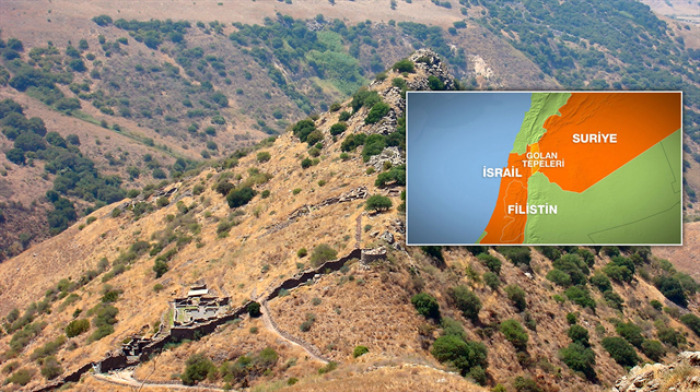 Golan'da petrol arayan Amerika