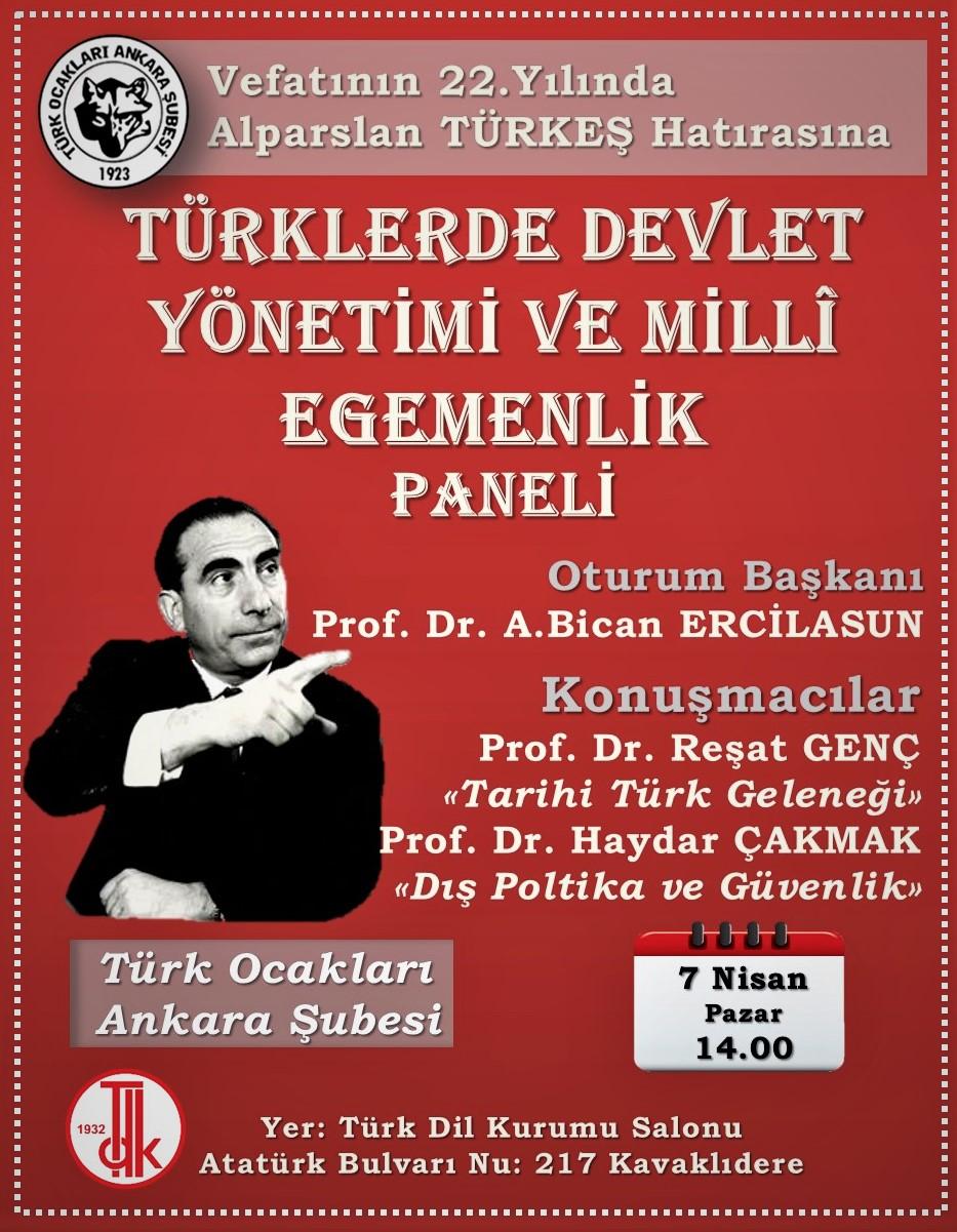 Türklerde Devlet Yönetimi ve Milli Egemenlik