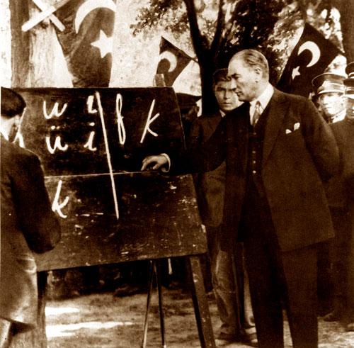 Türk'ce düşünmek için Türkçe
