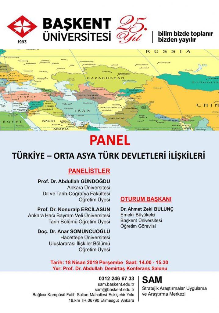 Türkiye-Orta Asya Türk Devletleri İlişkileri