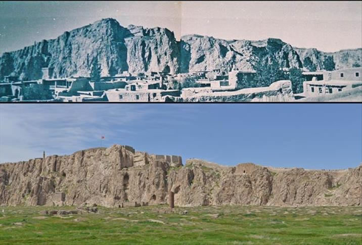 Ermeni isyanından önceki ve sonraki eski Van