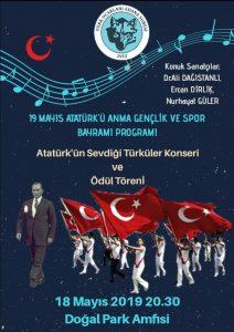 Atatürk'ün Sevdiği Türküler Konseri (Adana Türk Ocağı)