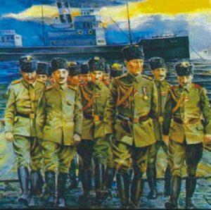 100 yıl önce Samsun'a çıkmak
