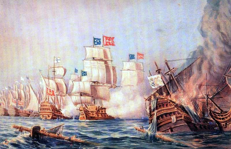 Sapienza Deniz Savaşı, Burak Reis'in Şehit Olması