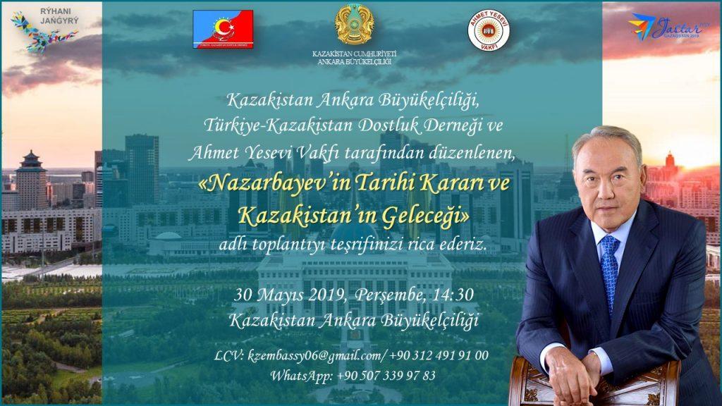 Nazarbayev'in Tarihi Kararı ve Kazakistan'ın Geleceği