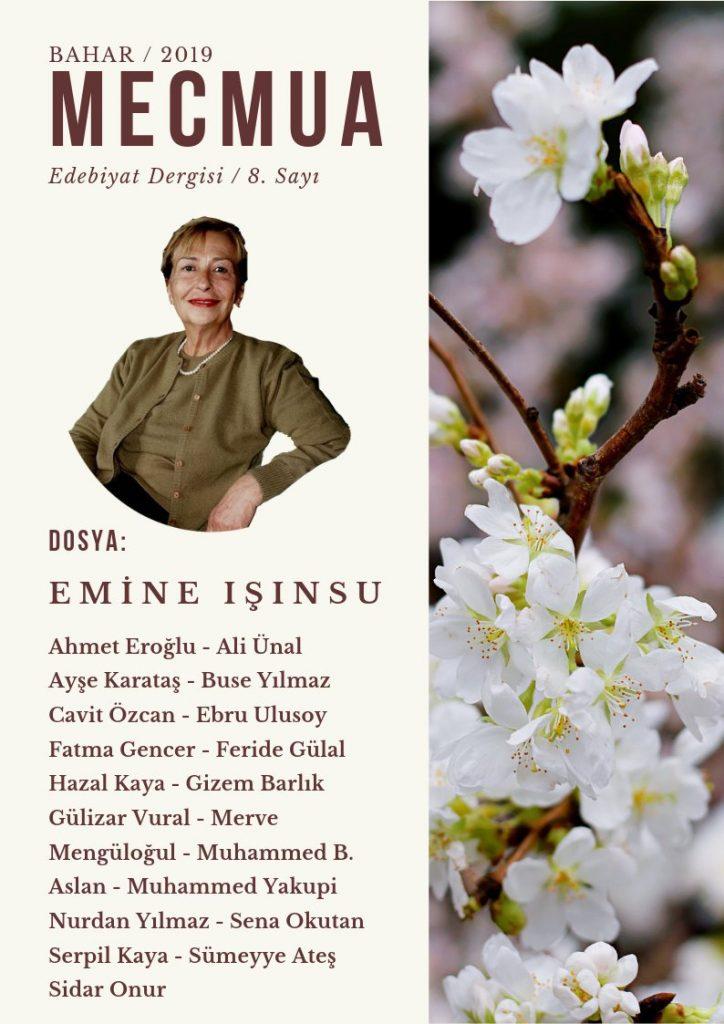 Mecmua Dergisi Emine Işınsu özel sayısı kapağı