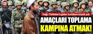 Çin, Doğu Türkistan'a giden turistlere casus uygulama yüklüyor