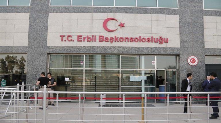 Erbil'de Türk Diplomatlara bölücü terör saldırısı