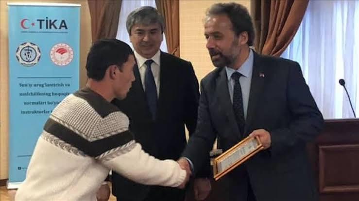 """Türkiye'den Özbekistana """"suni tohumlama""""eğitimi"""