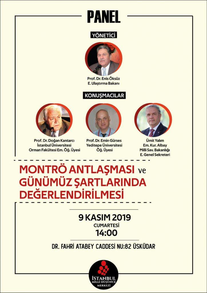 Panele Davet (İstanbul MDM Şubesi)